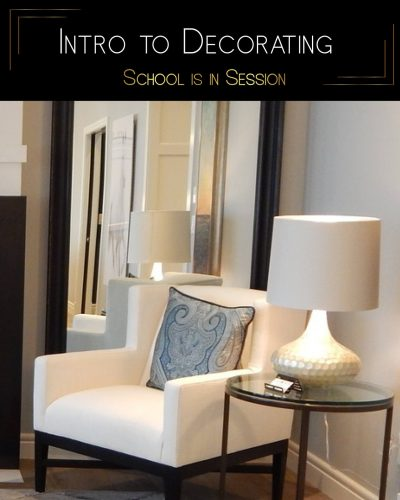 School is in Session: The Rules of Decorating