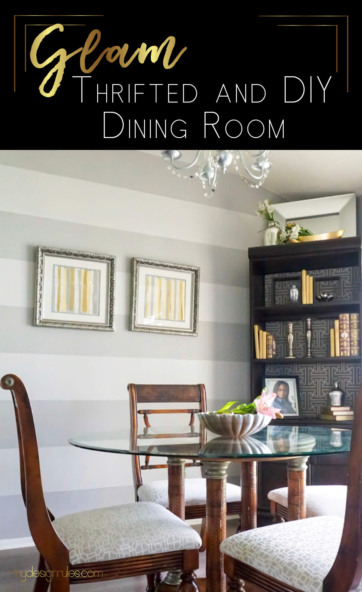 Give your dining room a makeover on a budget. Decorate a fabulous room on a budget.