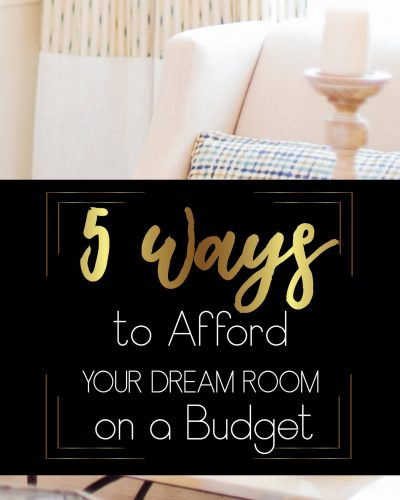 pink couch candle five ways to afford your dream room on a budget pin