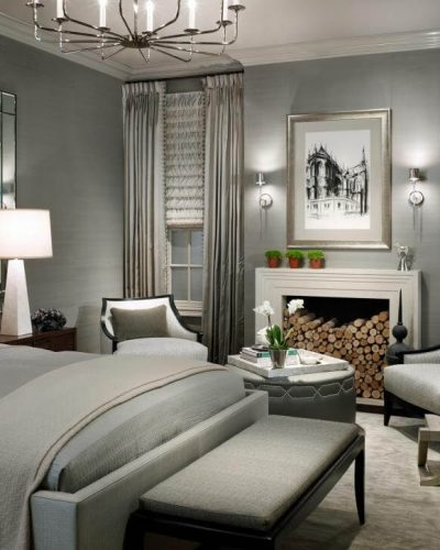 This is a bedroom of my dreams designed beautifully in neutrals, layers and luxury.