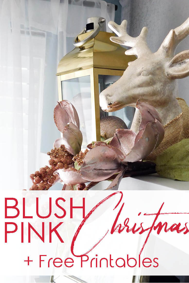 Come tour my home for Christmas. Blush Pink, gold and blue kitchen decorations in my in my kitchen. I also decorated my boy's bedroom in buffalo check and red with reindeer.