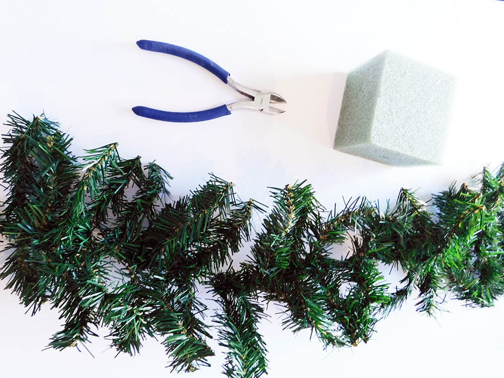Supplies-DIY-Faux-Mini-Christmas-Tree