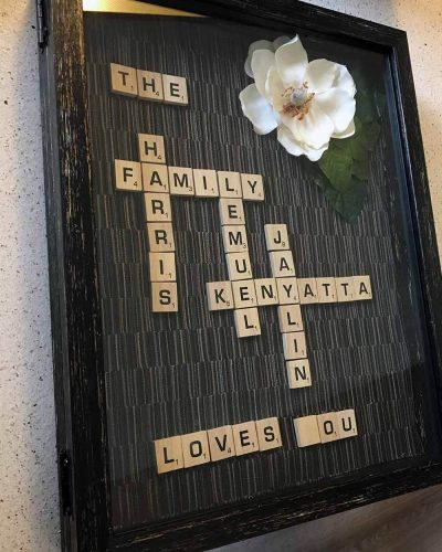 DIY Scrabble Mother's Day Gift sm