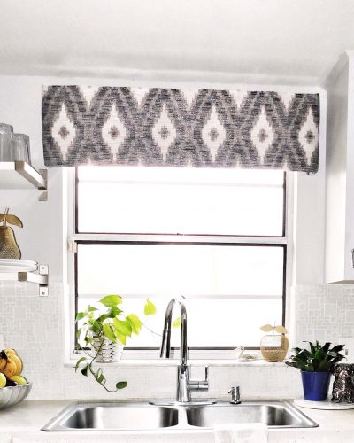 DIY Window Valance Front