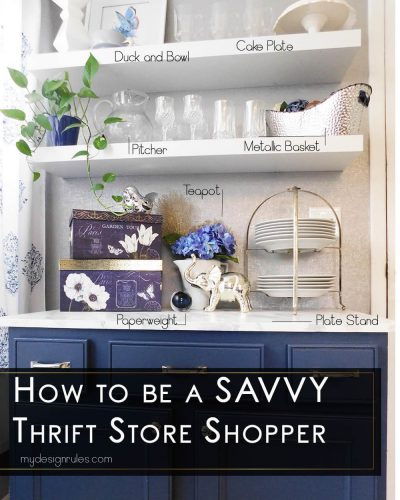 How to conquer thrift stores and decorate on a dime